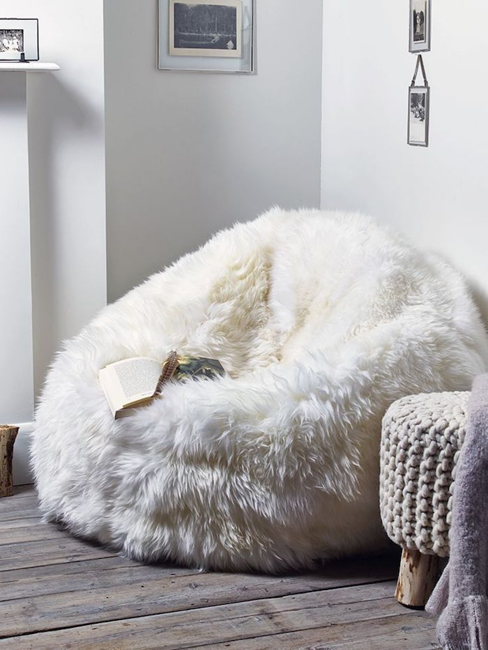 Create a cozy reading corner with a comfortable reading ...