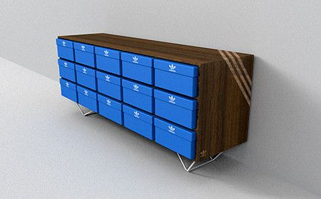 adidas shoe box storage