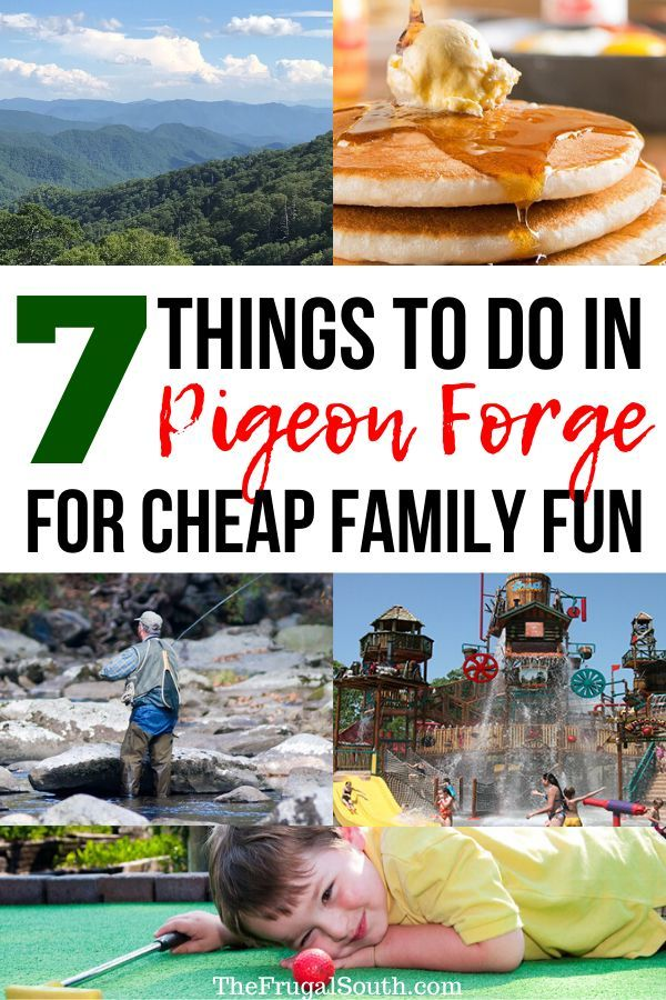 Top 7 Things To Do In Pigeon Forge For Cheap Family Fun In 2020 Cheap Family Fun Tennessee Family Vacation Kids Vacation
