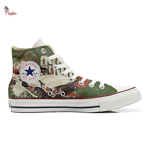 Make Your Shoes Converse Customized Adulte - chaussures coutume (produit artisanal) Vintage Paysley size 34 EU LzQJBpGo