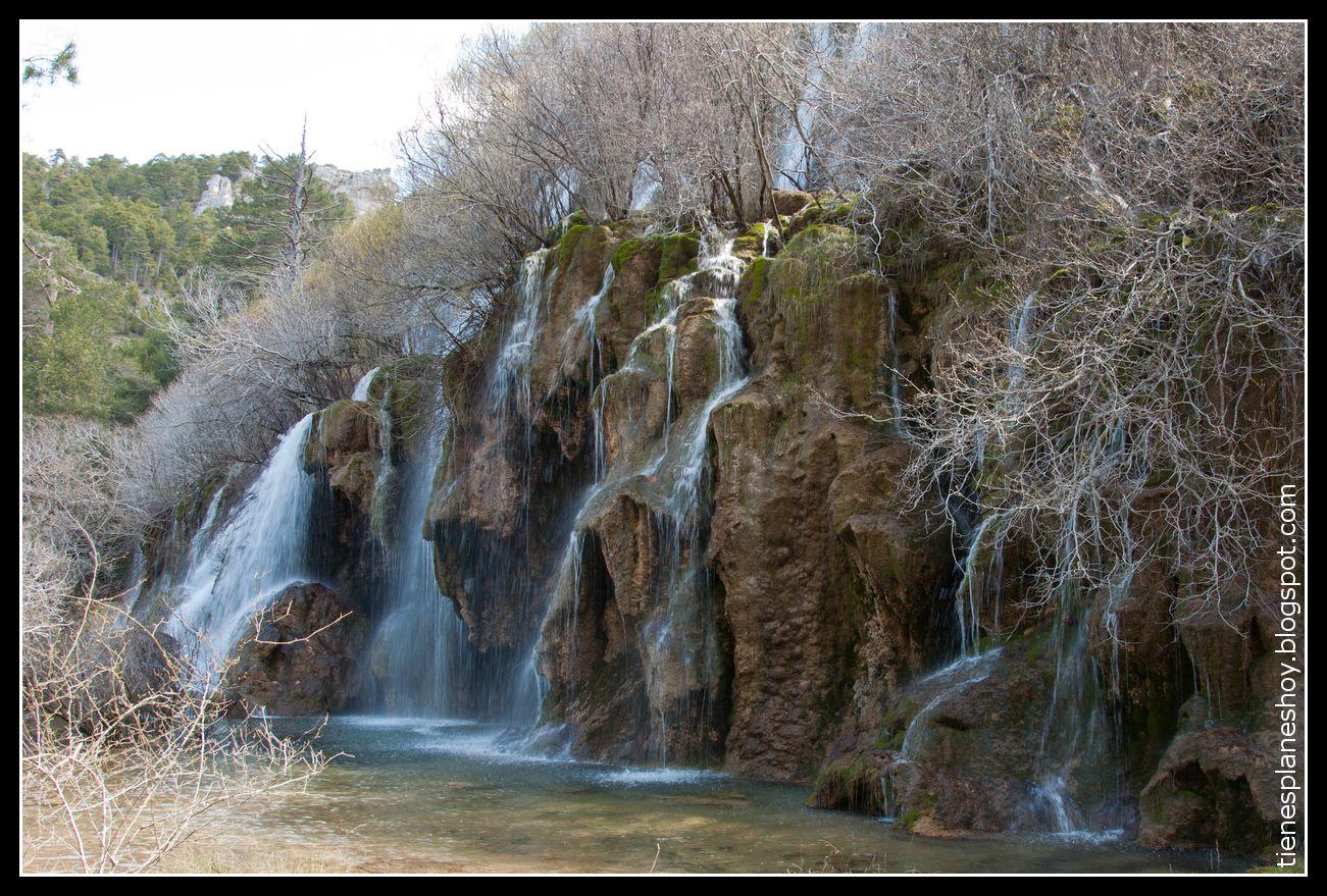 Nacimiento Del Río Cuervo Cascadas Viajar Por España Lugares De España