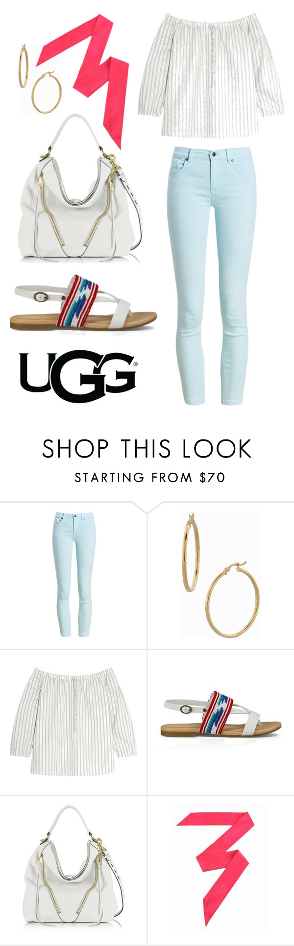 """Play With Prints In UGG: Contest Entry"" by roxanna-kingston ❤ liked on Polyvore featuring UGG Australia, Barbour, Bony Levy, Madewell, Rebecca Minkoff, Hermès and thisisugg"