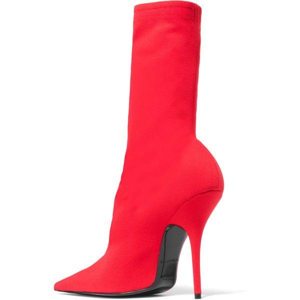 Balenciaga Stiletto Heel Pointed Sock Booties xEn14q