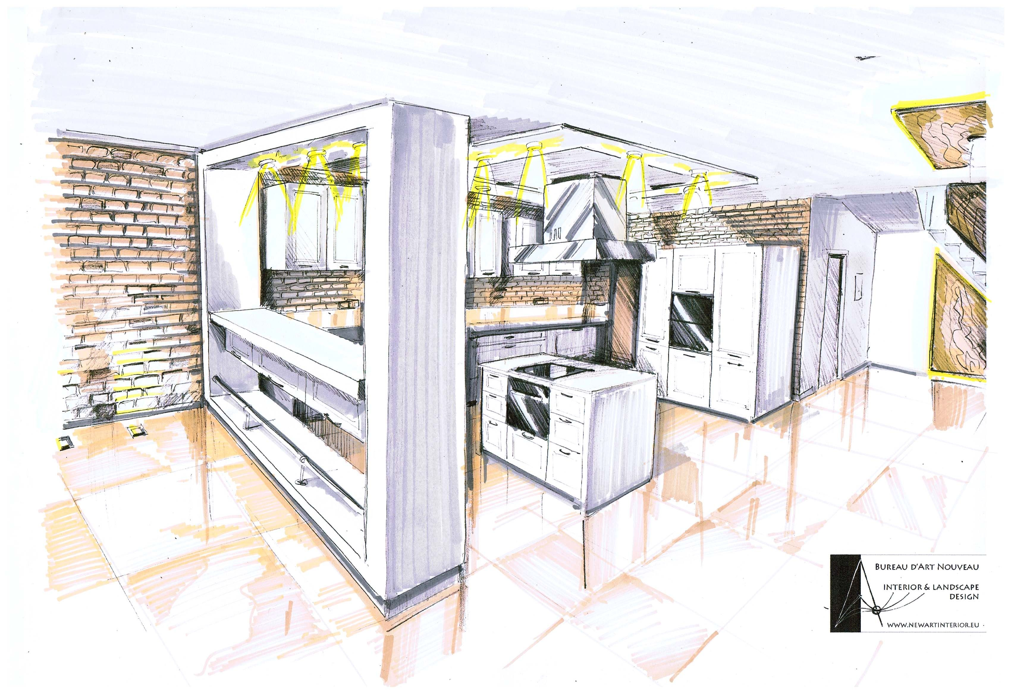 interior architecture sketches google search