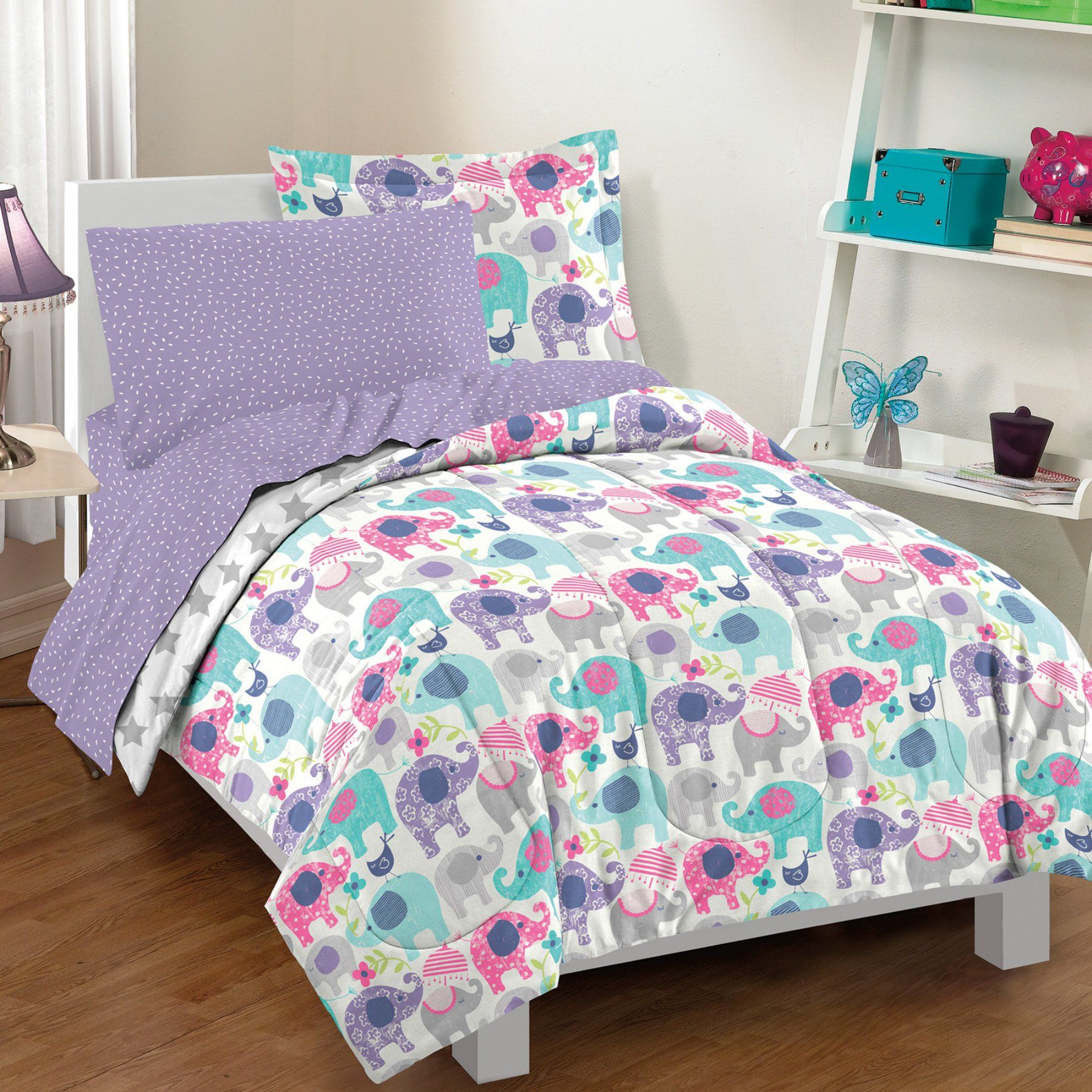 Elley Elephant Bed In A Bag Set By Dream Factory