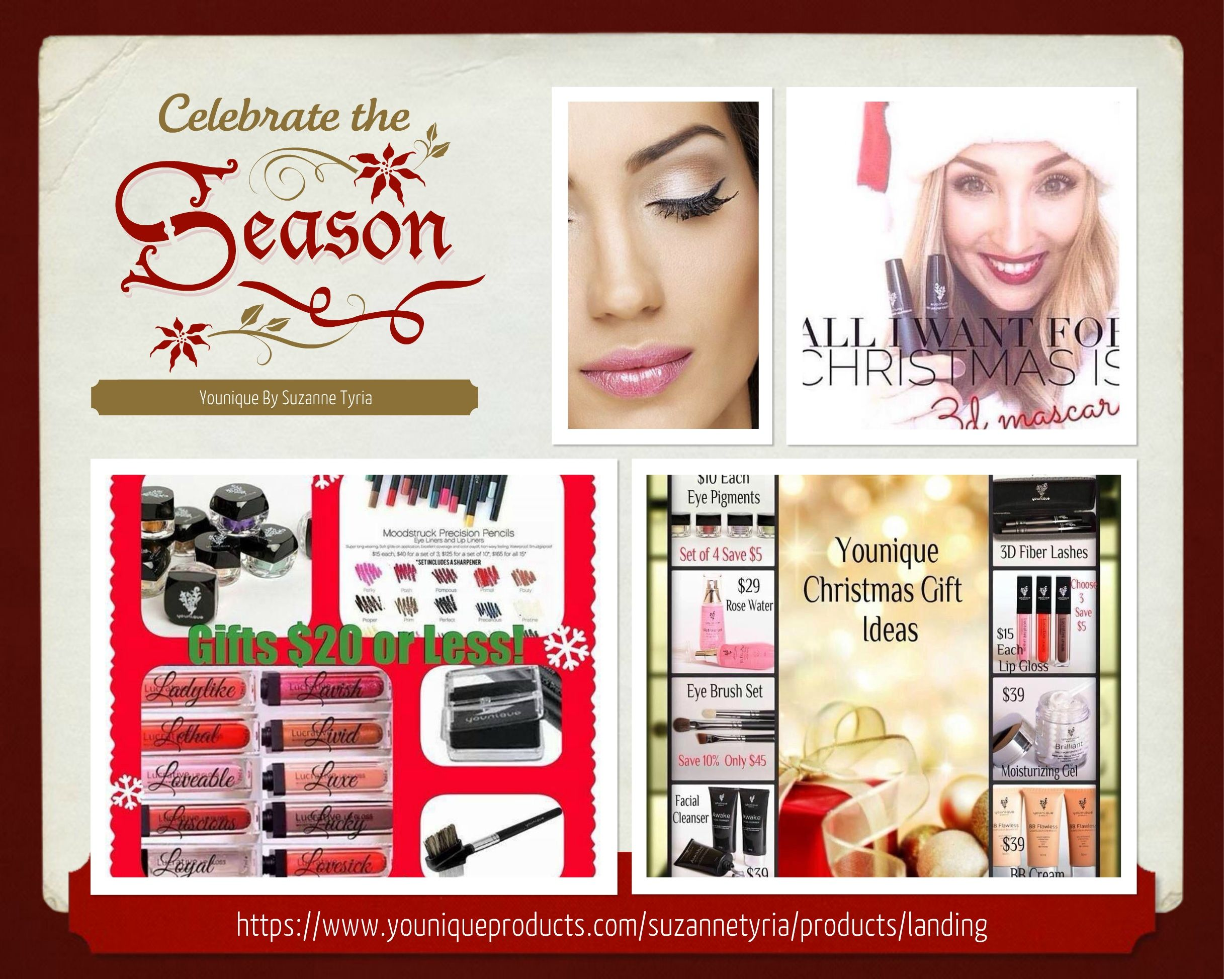 Need gift ideas? https://www.youniqueproducts.com/suzannetyria/products/landing