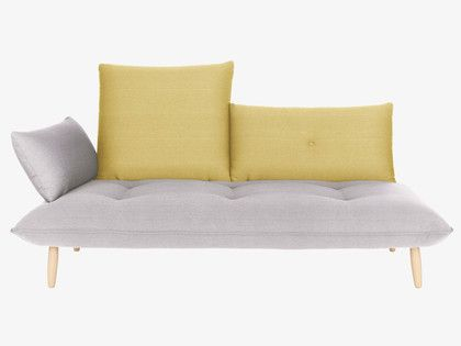 Good The Naoko Grey And Yellow Left Arm 3 Seater Sofa Is A Unique Design That  Encourages Complete Relaxation And Comfort. Buy Now At Habitat UK. Gallery