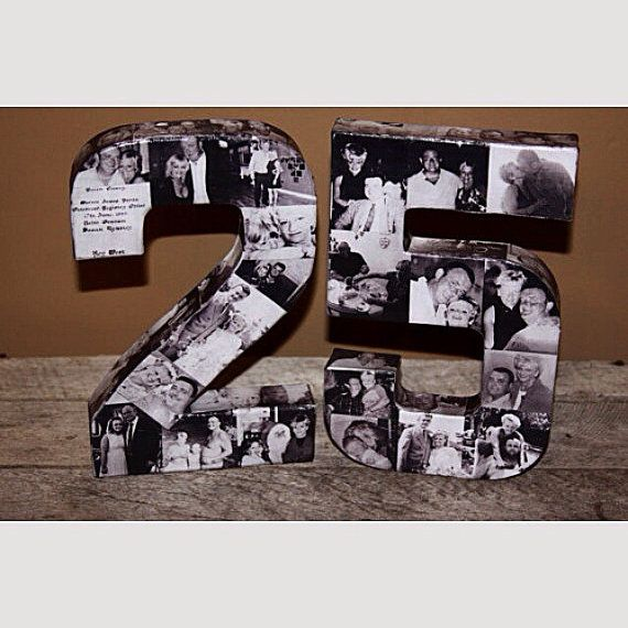 Ideas For 25th Wedding Anniversary Gift: 25th Wedding Anniversary Party 50th 75th Engagement 8