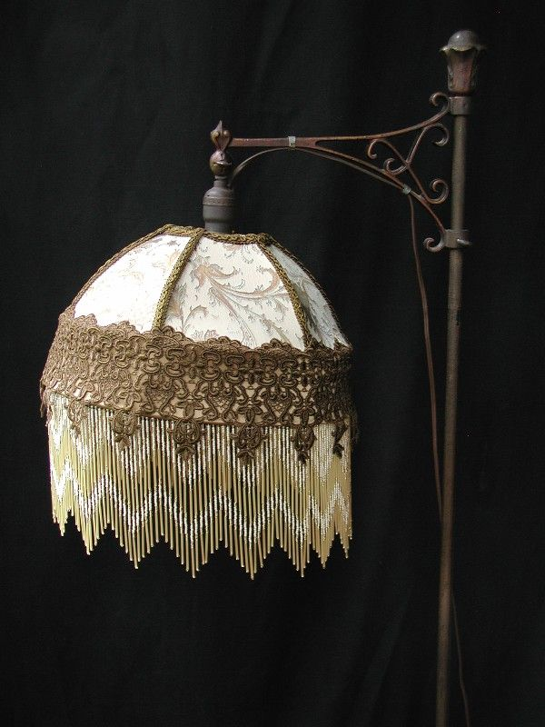 Vintage Victorian Bridge Lamp Shade | Steampunk / Victorian Dream ...