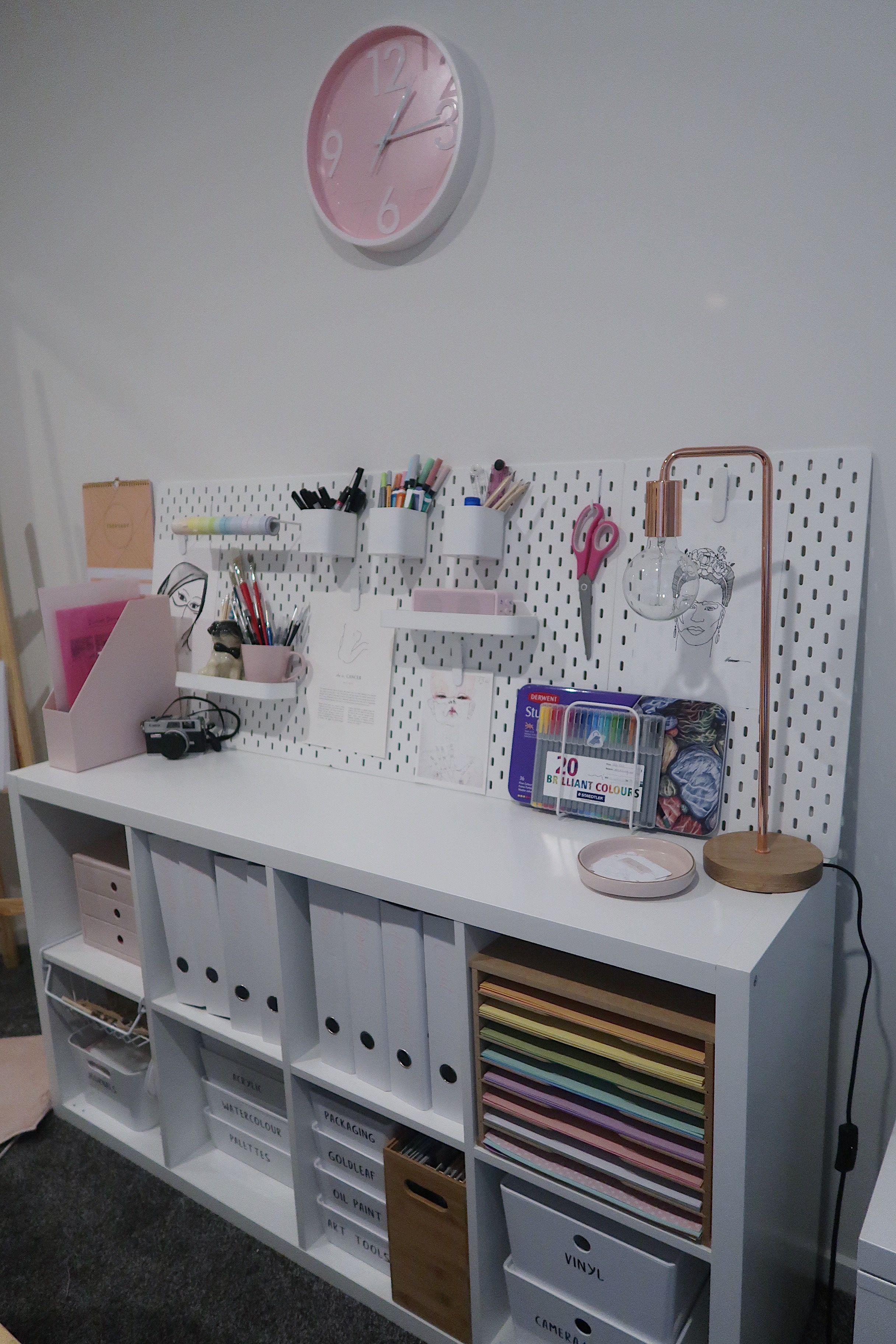 Study Organisation Craft Room Decor Room Organisation Craft Room Design
