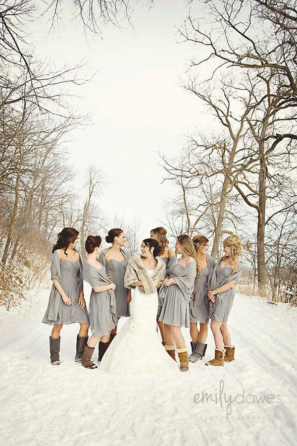 98838c330a Bridesmaids. Winter. Uggs
