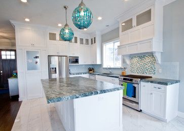 Coastal Craftsman - transitional - Kitchen - Salt Lake City - Design Hintz Interior Design