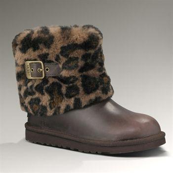Ugg 174 Australia Girls Youth Ellee Animal Boot Boots Kids