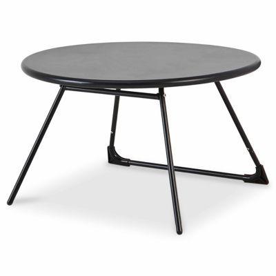 Table Basse De Jardin Blooma Nova Metal Noir O70 Cm En 2020