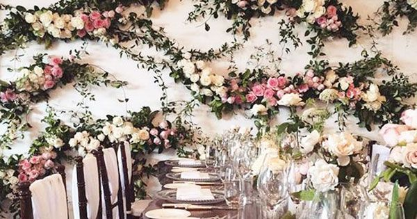 20 Jaw Dropping Flower Walls For Any Occasion Wilkie Flower Wall Flowers Flower Arrangements