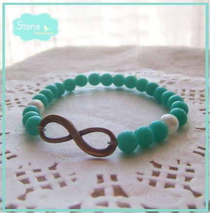 [new] @ storin pulsos coloridos // pulseiras do infinito // várias cores  // infinity bracelets // lots of colours to choose // contact us through mail storin@sapo.pt or facebook http://www.facebook.com/PequenosTesouros