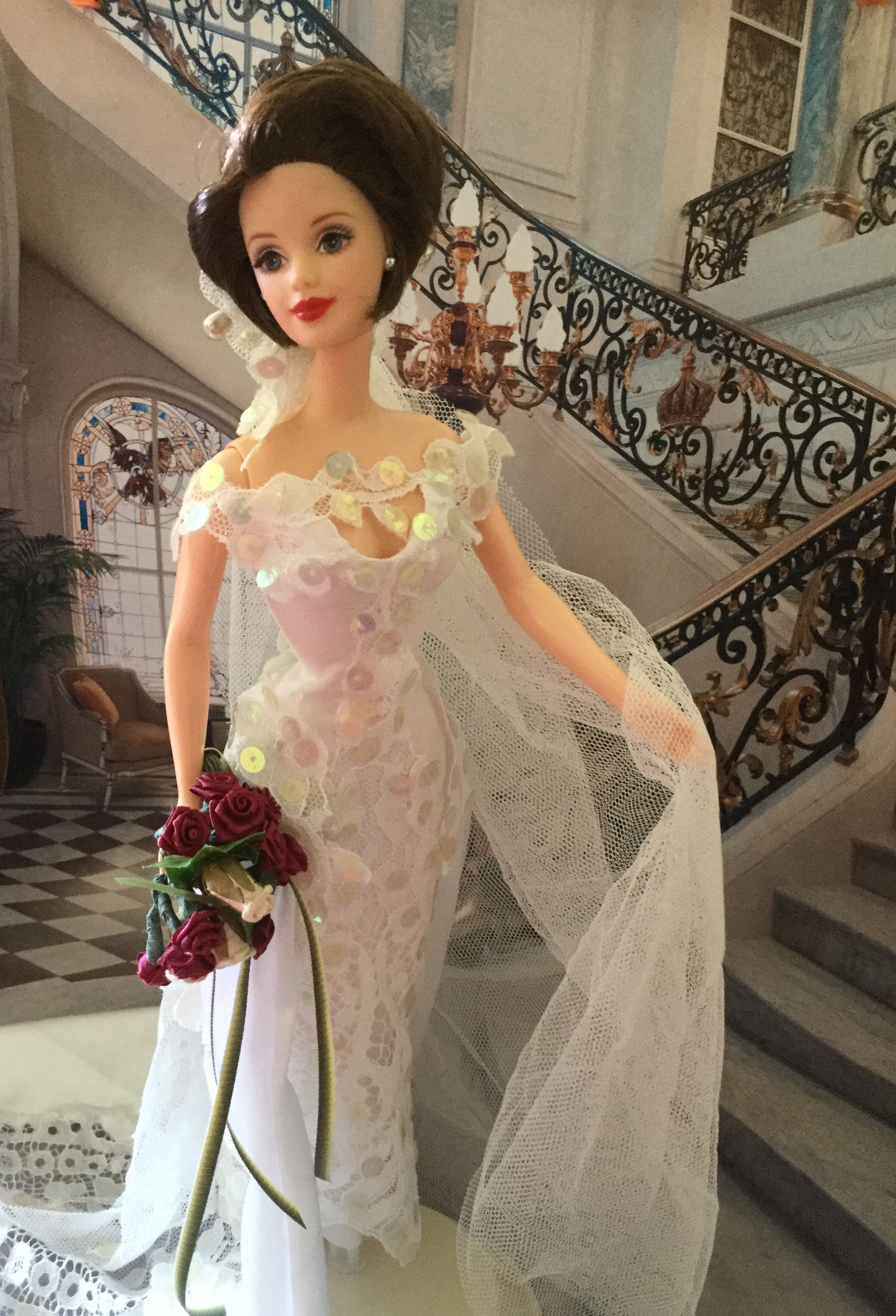 Pin by gladys on barbie doll size brides pinterest barbie doll