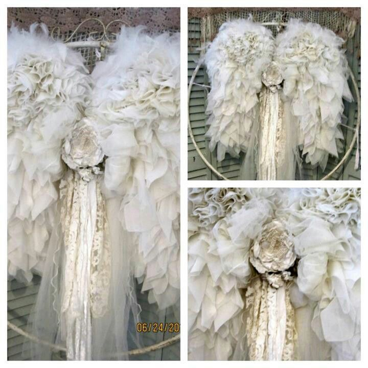 0b2def94340ed81cd75e73d5785d7c0c jpg 720 720 pixels love to create rh pinterest com  diy shabby chic angel wings