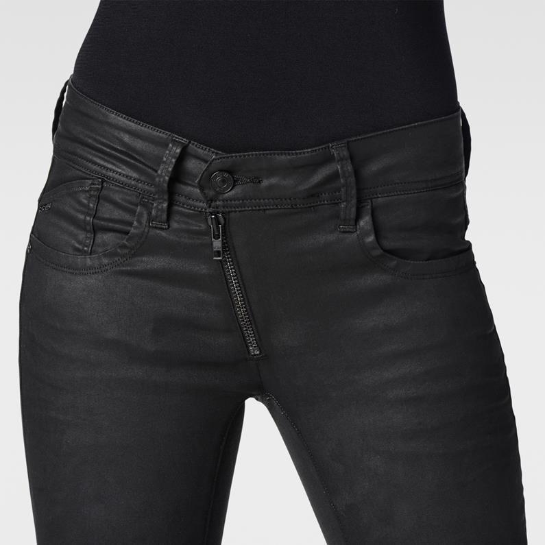 G star lynn custom zip skinny women's jeans