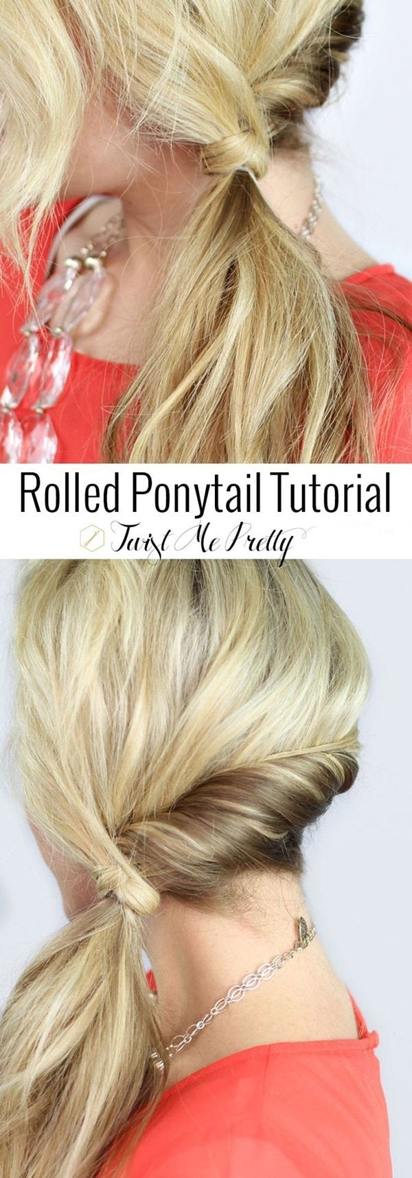 Quick Hairstyle Tutorials For Office Women Inflation Is When You Pay Fifteen Dollars For The Te Side Ponytail Hairstyles Cute Everyday Hairstyles Hair Styles