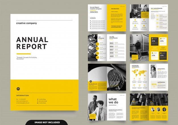 Разработка макета шаблона с титульным листом для профиля компании и брошюр