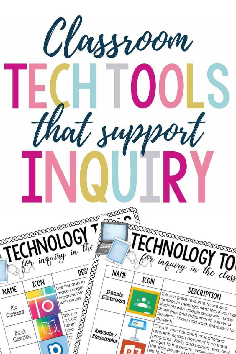 Classroom Tech Tools That Support Inquiry