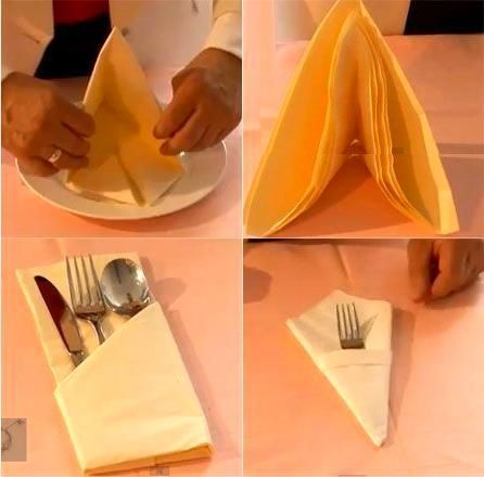 Paper Napkin Folding Ideas,  #Folding #ideas #napkin #Paper #napkinfoldingideas ...,  #Foldin... #papernapkins