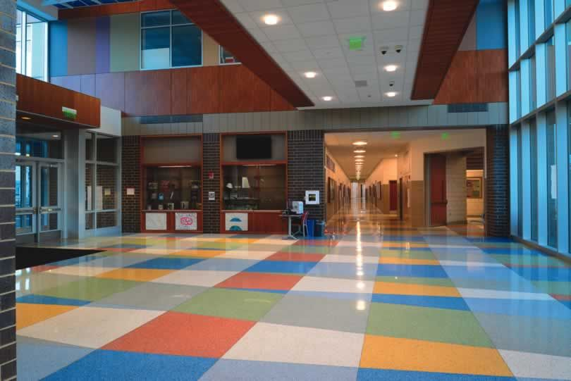 Thurgood Marshall Middle School National Terrazzo And Mosaic