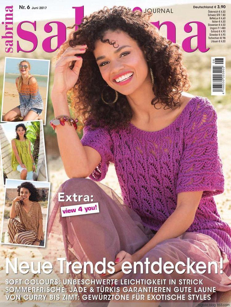 Sabrina 6 2017 轻描淡写 轻描淡写 Crochetknit Magsbooks