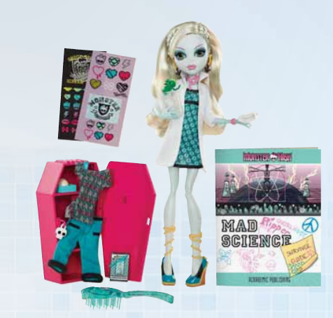 Monster High Lagoona Blue Dance Class Doll-Used-Not