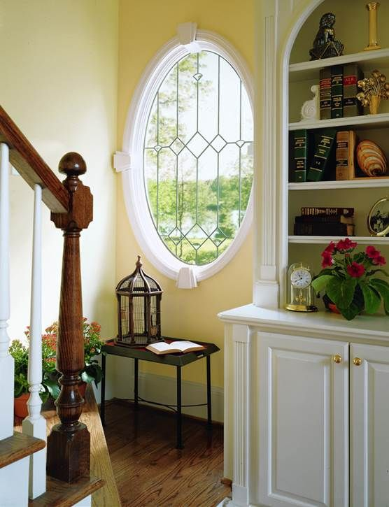 Art Glass Adds A Little Something Extra To Your Queen Anne Style Home House Styles Home Window Grids
