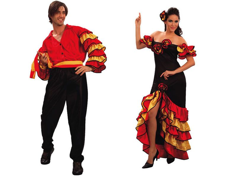 Pareja disfraces de rumberos parejas disfraces carnaval - Difraces para carnaval ...