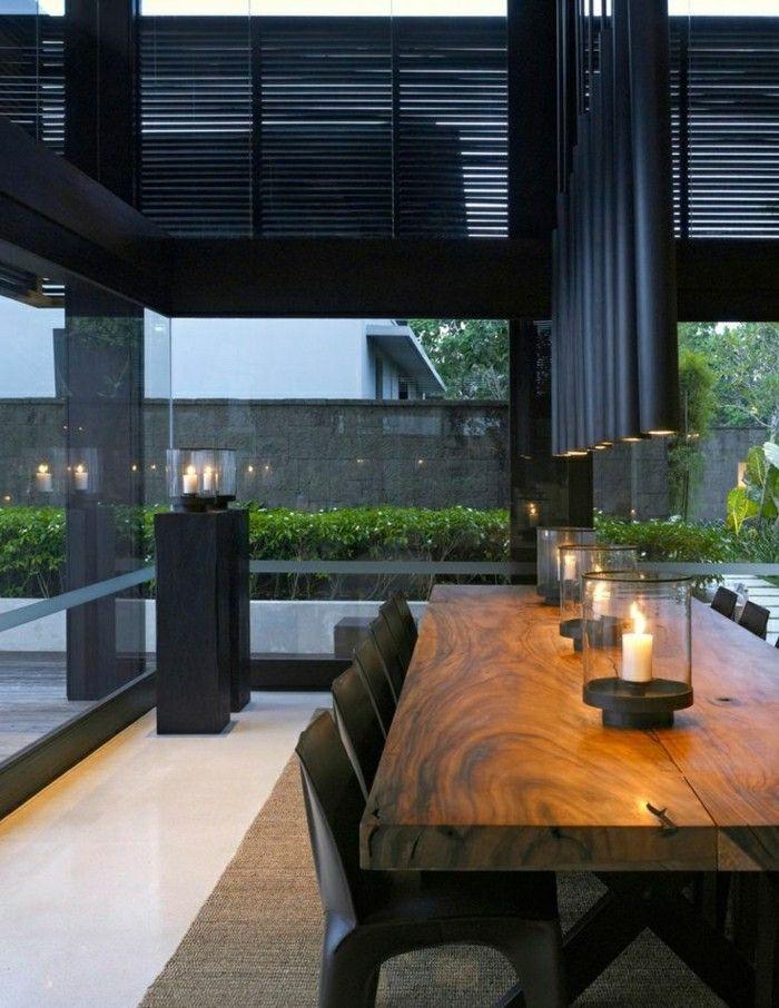 Massiver Esstisch Aus Holz Modern
