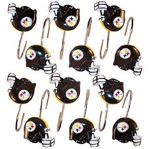 Shower Curtain Hooks Lol Pittsburgh Steelers Steelers Pittsburgh