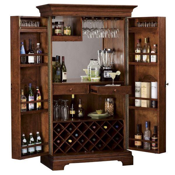 Lovely Howard Miller Bar Cabinets