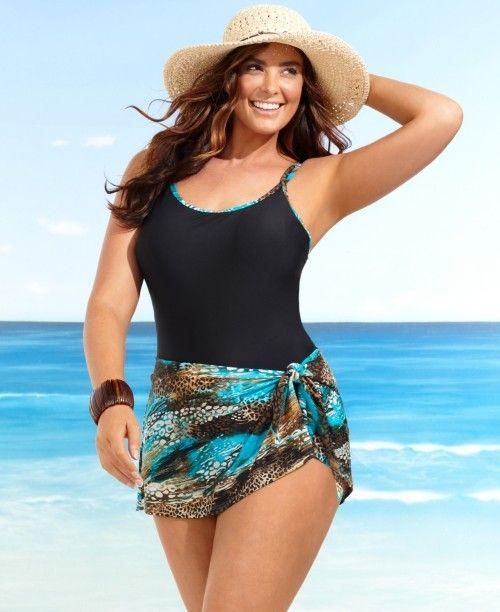 plus size swimwear | shop plus size swimsuit one piece bathing