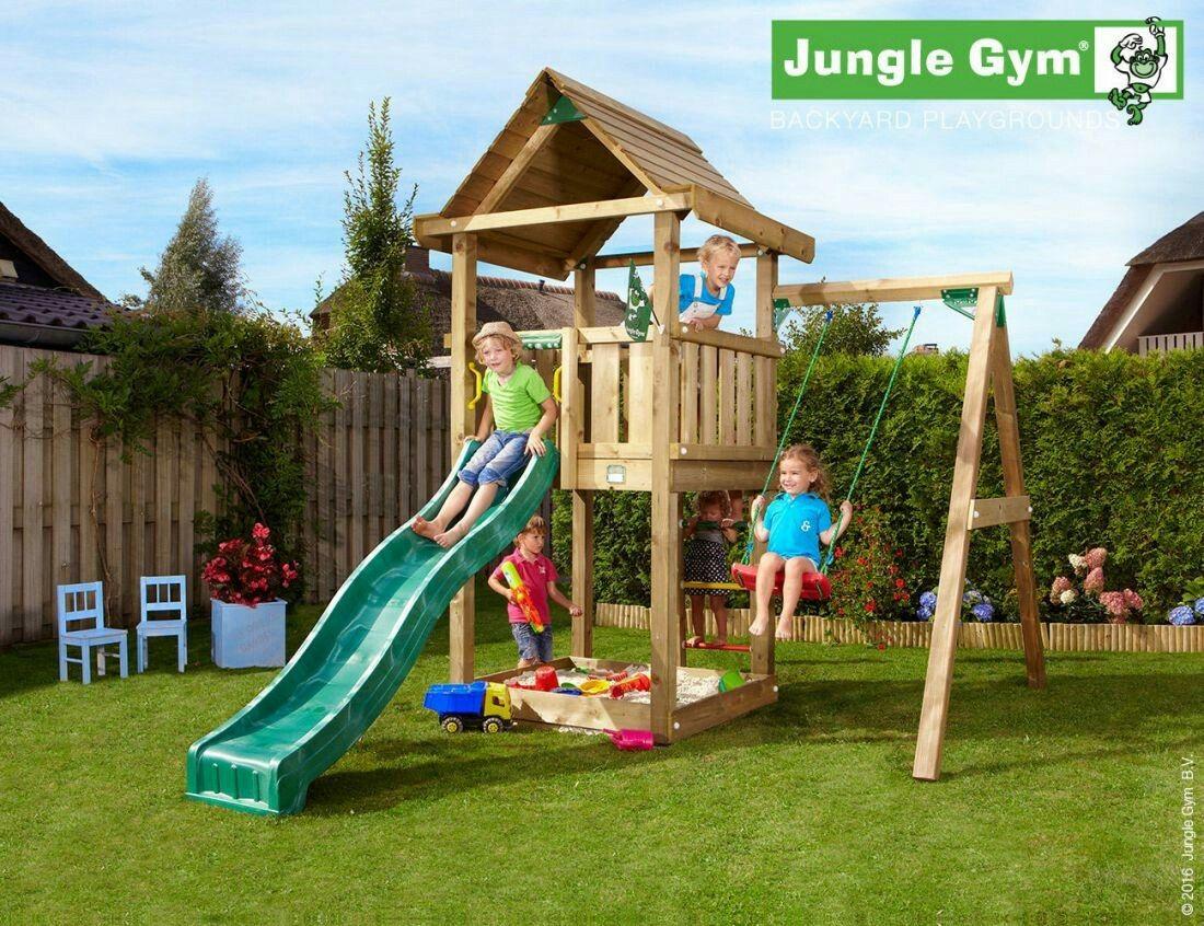 Toms · Jungle HouseJungle GymGarden SwingsKids ...