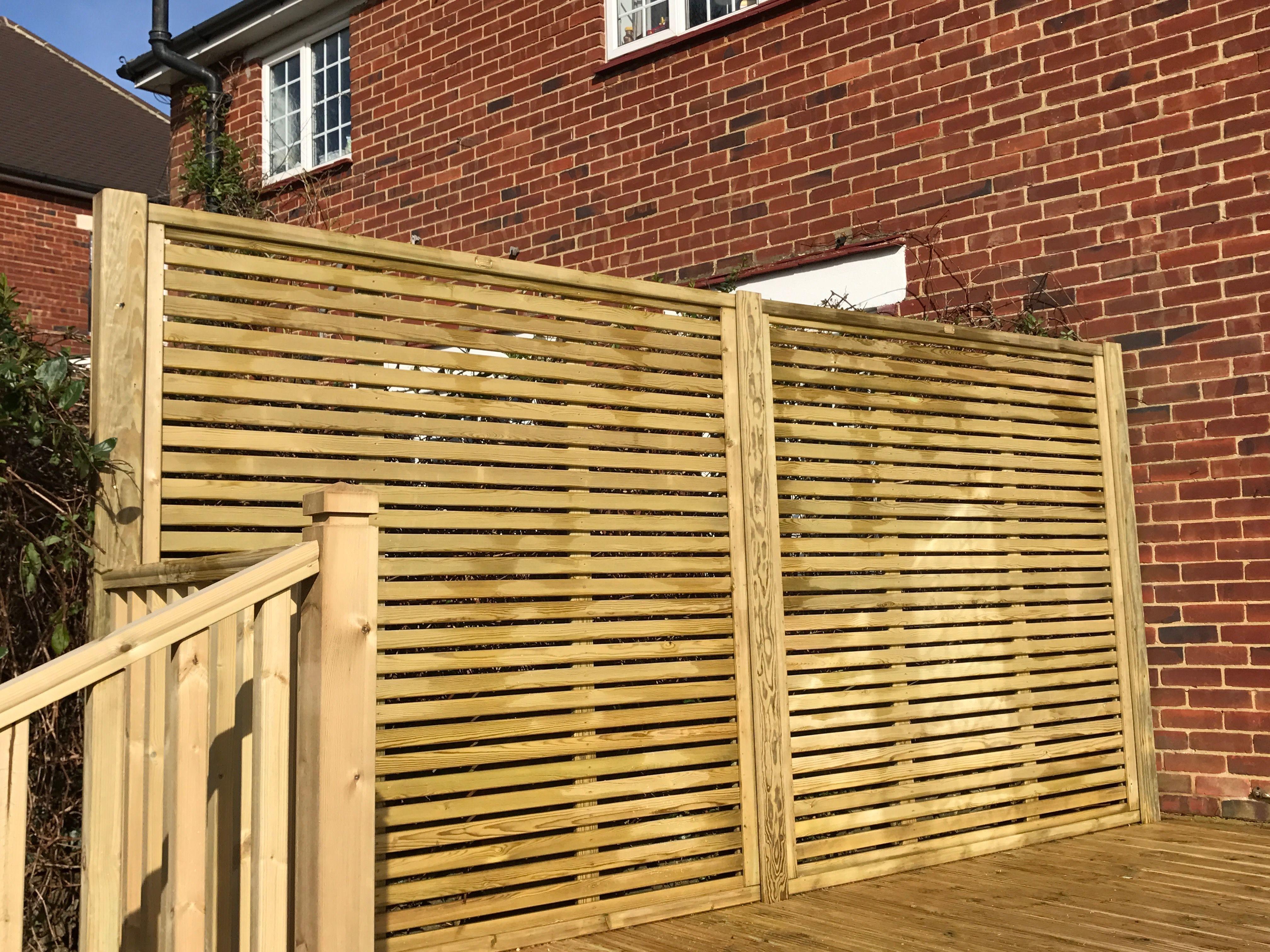 Venetian Fence Panels | Fence panels, Decorative garden ...