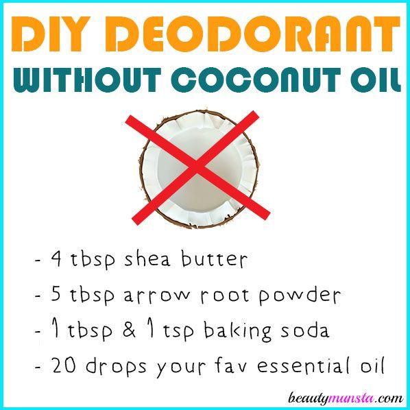 DIY Deodorant without Coconut Oil | Zero waste | Diy