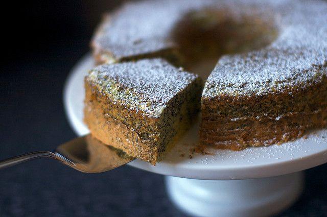 Poppy Seed Lemon Cake Yum Poppy Seed Cake Lemon Desserts Lemon