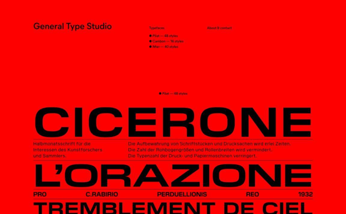 General Type Studio Web Design Studio Best Web Design