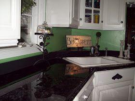 Refinish Countertop For About 100 Rustoleum Flat Black Paint