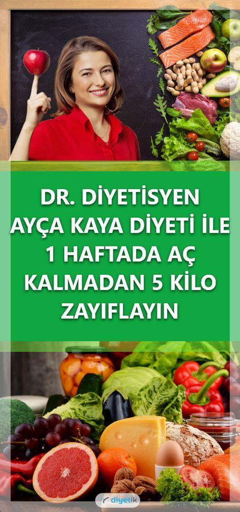 Diyetisyen Ayça Kayanın hazırladığı 1 haftada 5 kilo zayıflatan sağlıklı diyet listesine yazımızdan ulaşabilirsiniz Diyetin uygulanışı püf noktaları ve tü...