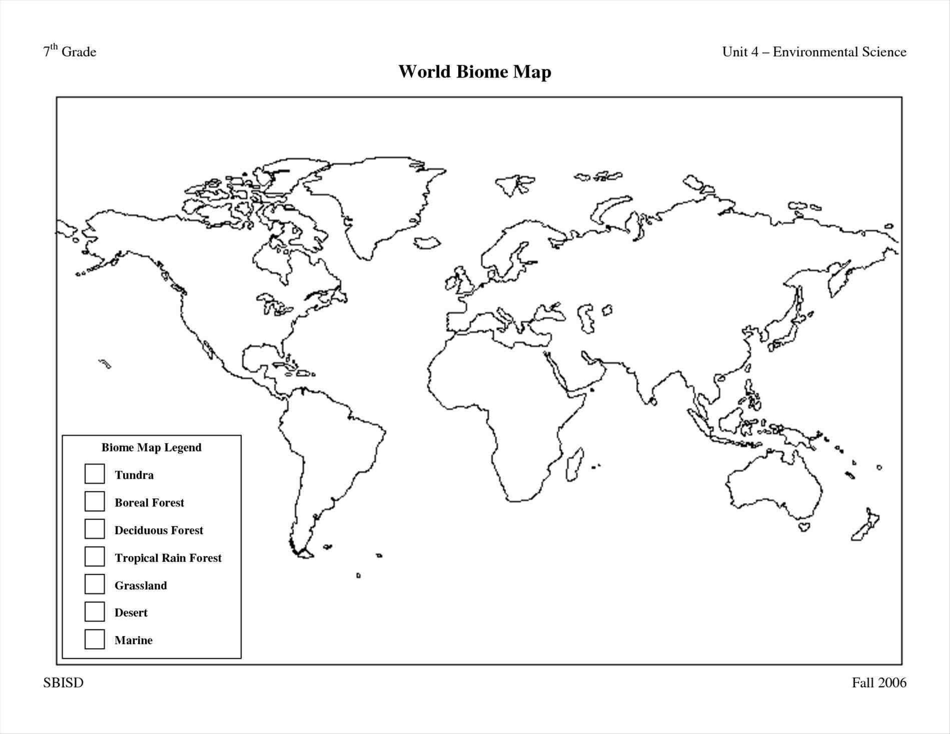 World Biome Map Coloring Worksheet New Printable World Maps In Black And White And Travel Free Printable World Map Map Activities Color Worksheets