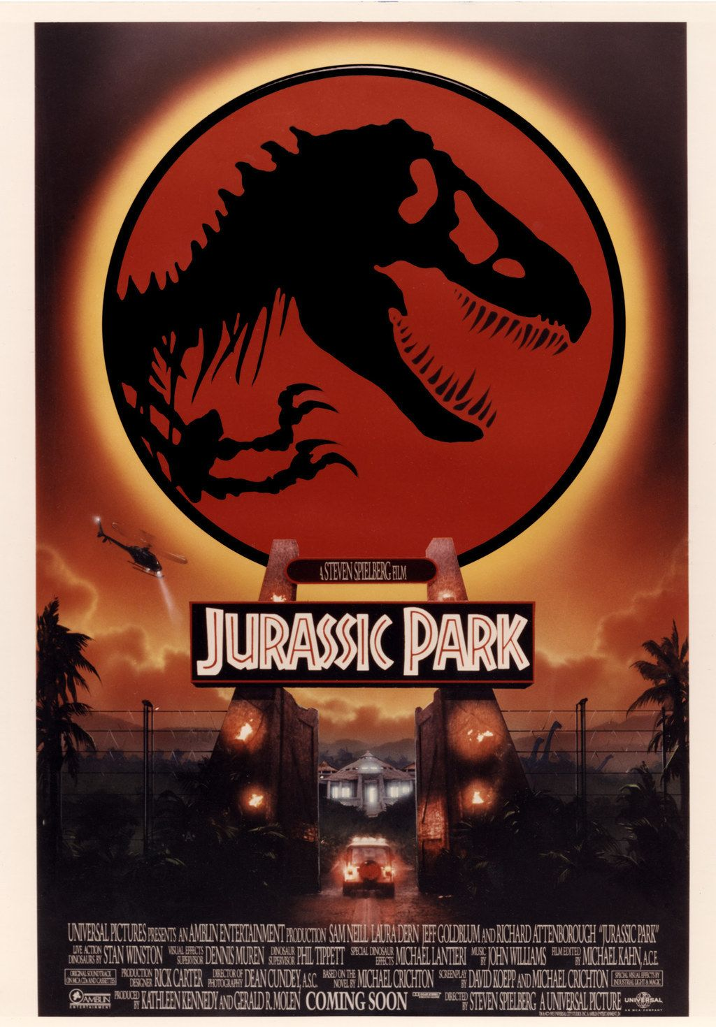 """This Unseen """"Jurassic Park"""" Poster Art Is Incredible"""