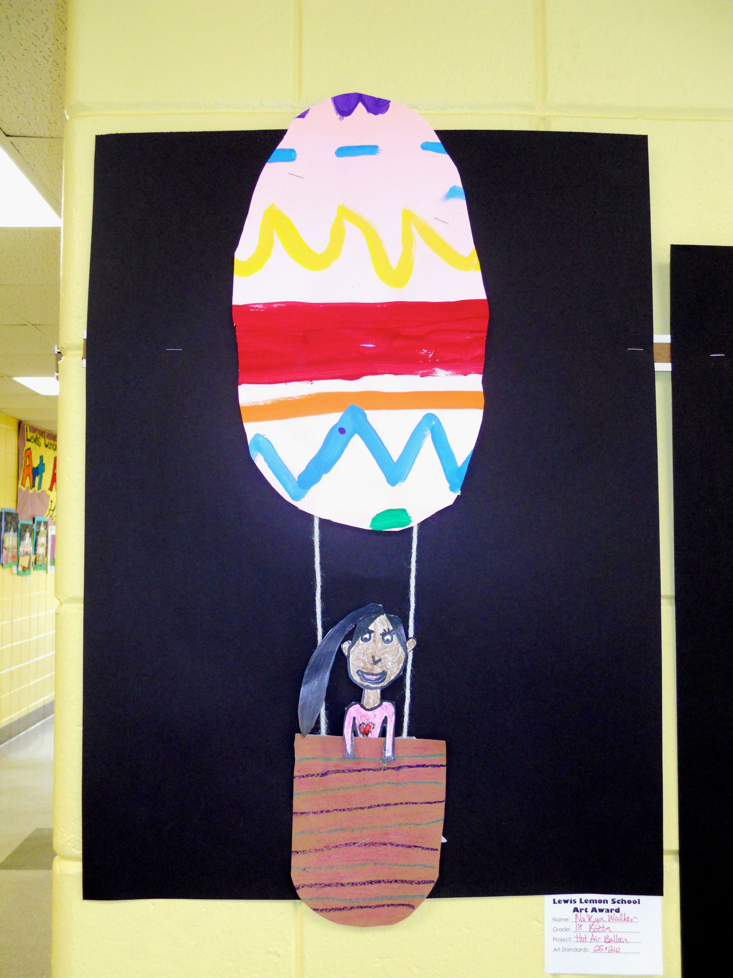 1st Grade Line Painting Broken Thick Thin Zig Zag And