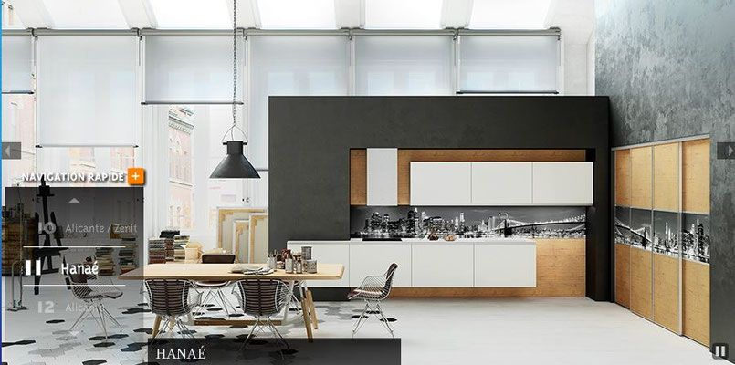 cuisine morel collection 2016 2017 par cuisine design toulouse mod le hana les coulissants. Black Bedroom Furniture Sets. Home Design Ideas