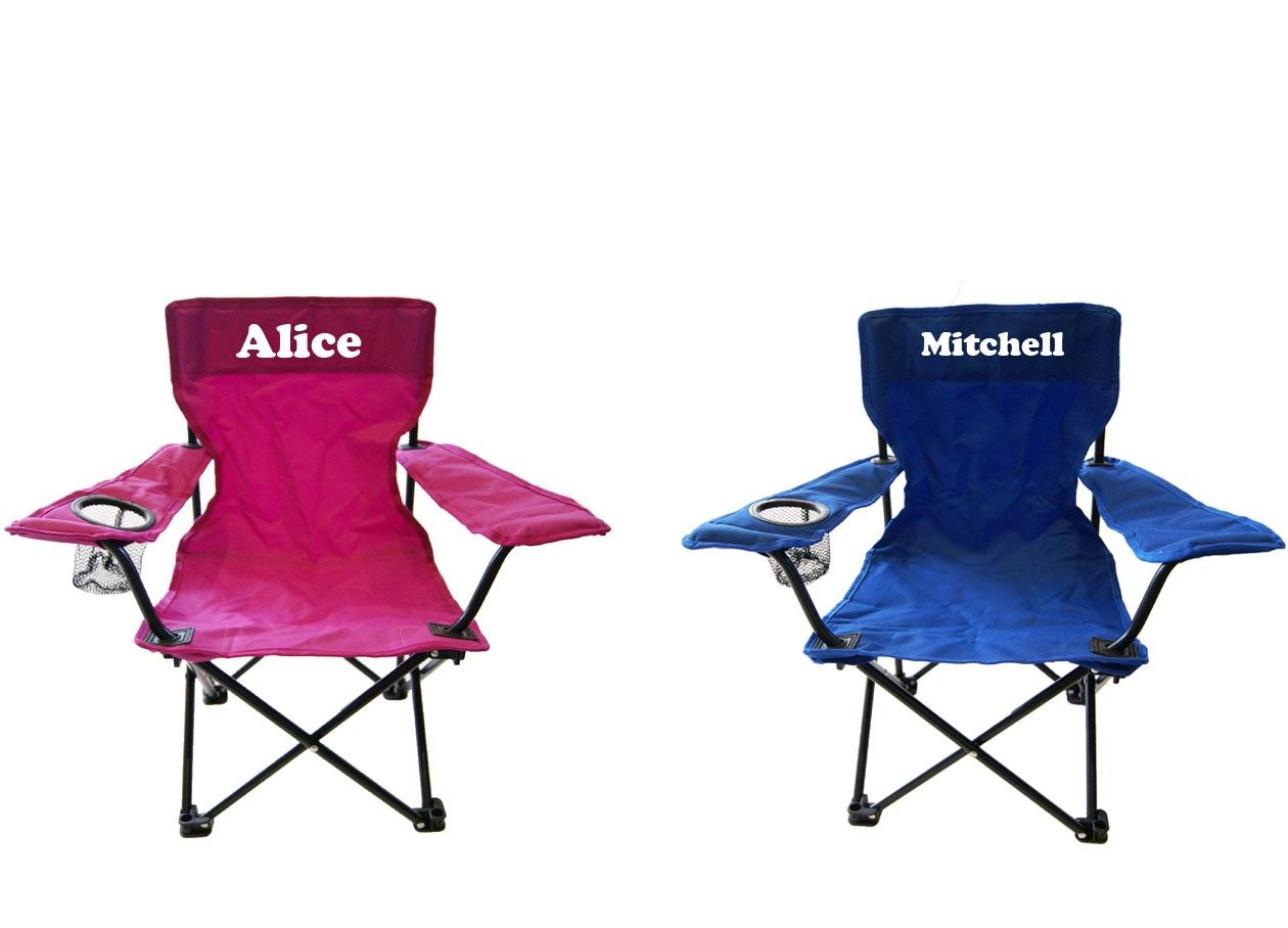 Personalised Kids Camping Chairs Kids Camping Chairs Backyard