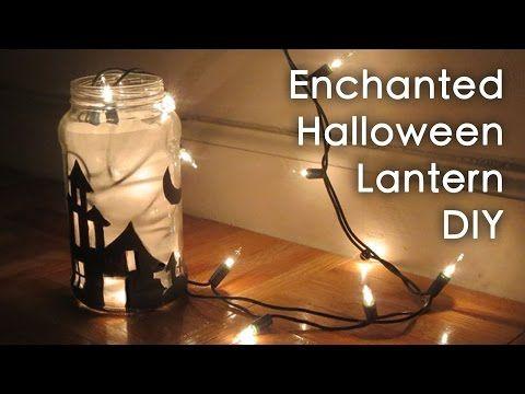 DIY crafts (Halloween decorations) CANDLE JARS, Lanterns- Innova