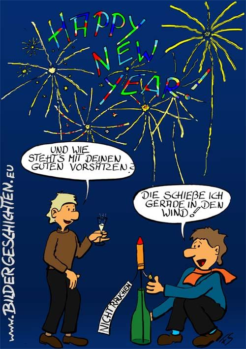 Lustige Neujahr Bilder